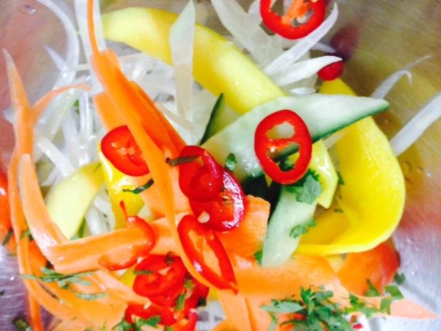 Thai sallad