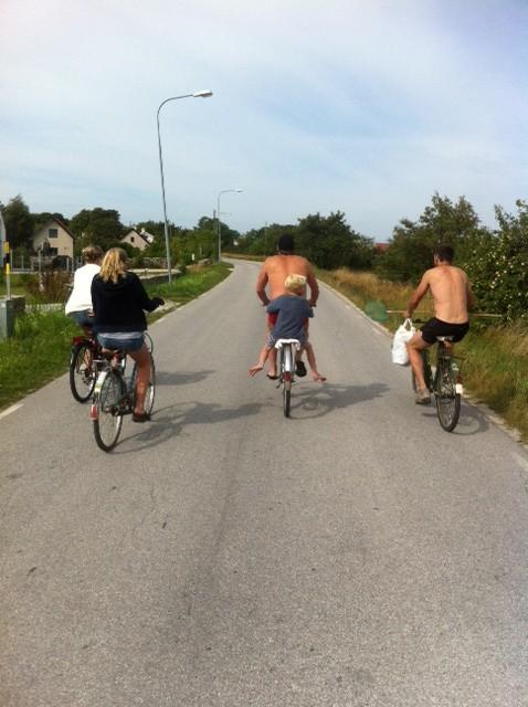 Cyckla på Gotland